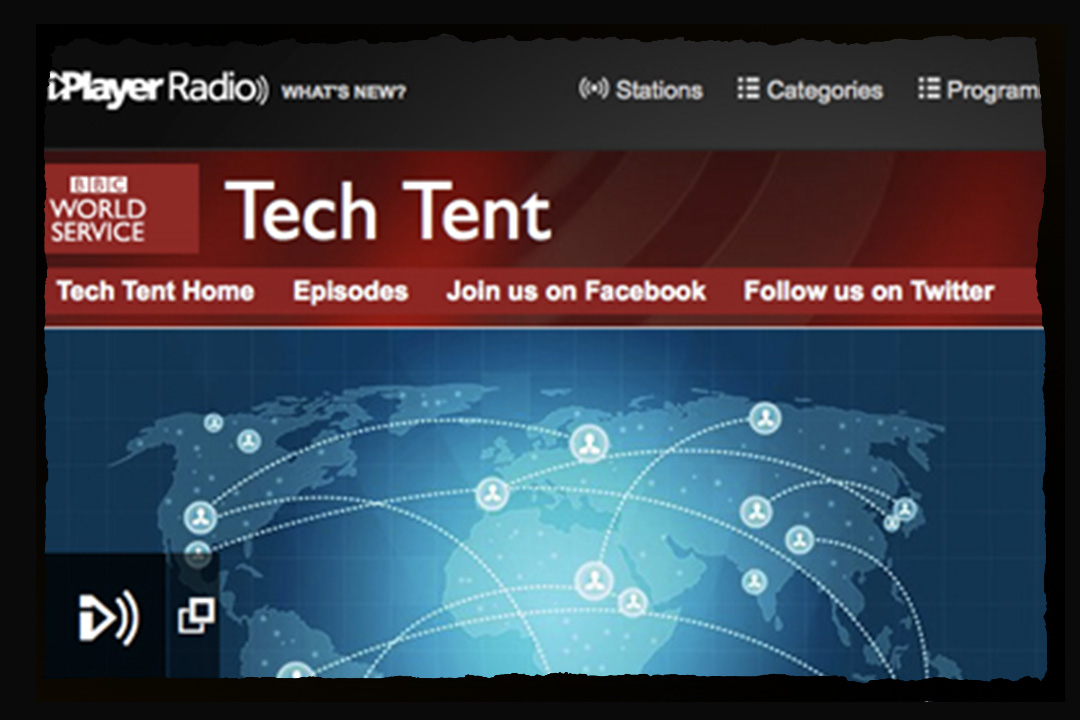 BBC tech tent press